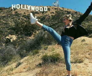 hollywood and girl image