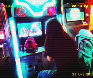 90's, aesthetic, and arcade games image