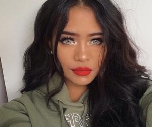brunette girl image