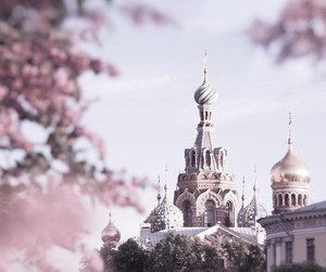 russia and pink image
