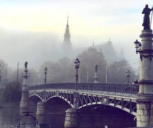 bridge, stockholm, and sweden image