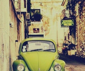 alley, vintage, and green image