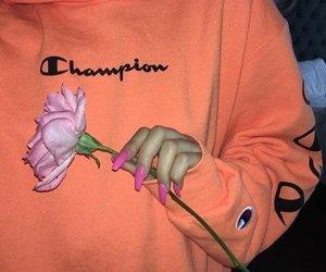 fashion, champion, and nails image