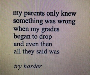 parents, grunge, and quotes image