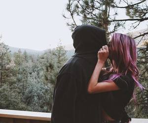 couple, sweet, and kiss image