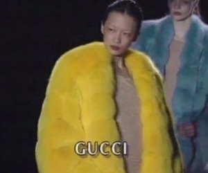 gucci, yellow, and fashion image
