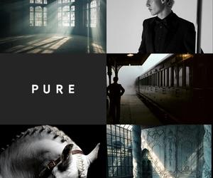 draco malfoy, hogwarts, and pure image