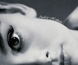 audrey hepburn, beauty, and black and white image