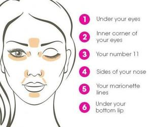 makeup and concealer image
