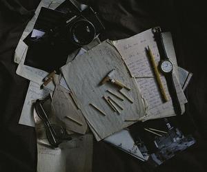 vintage, camera, and grunge image