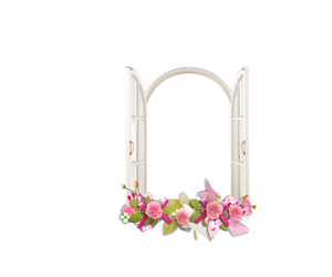 flower, png, and white image