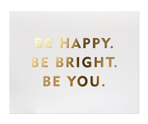 happy, quotes, and be you image