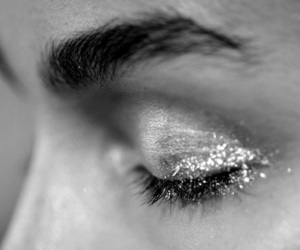 glitter, eyes, and beauty image