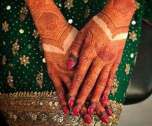 dp, indian bride, and shaadi image