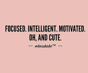quotes, intelligent, and motivation image