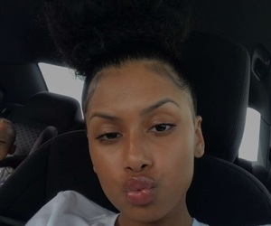 bun, eyebrows, and skin care image
