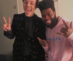 khalid and Harry Styles image