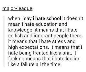 school and failure image