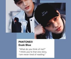 blue, exo, and grunge image