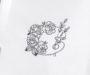 draw, tattoo, and minimalist image