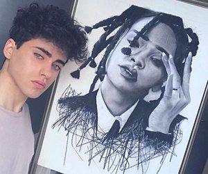 art, boy, and beautiful image