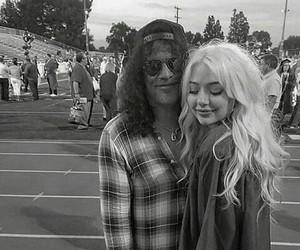 axl rose, girl, and Guns N Roses image