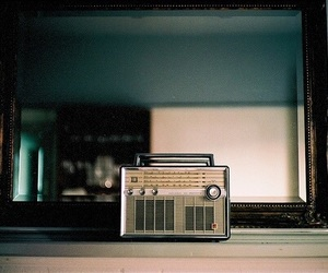 vintage, radio, and aesthetic image