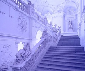 purple, aesthetic, and white image