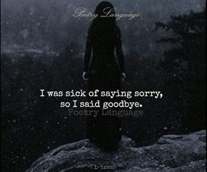 break up, damn, and feelings image