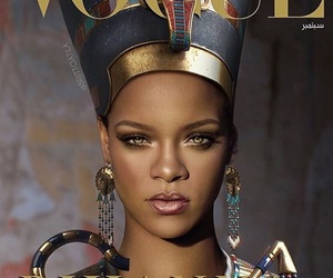 Queen, rihanna, and vogue image