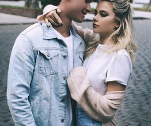 couple, valentina zenere, and michael ronda image