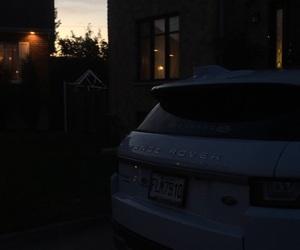 background, sunrise, and land rover image