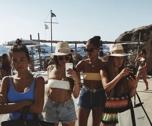 fashion, summer, and girls trip image