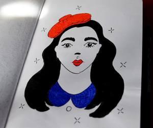illustration, ink, and inktober image