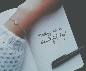notebook, girl, and quotes image