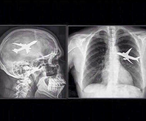 airplane, fly, and aviation image