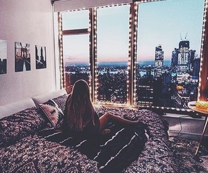beautiful, lové, and bed image