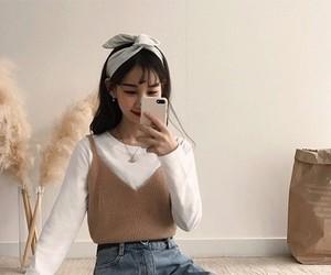 aesthetic, ulzzang, and girl image