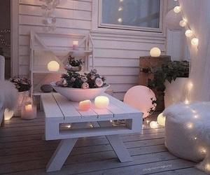 home, decor, and lights image