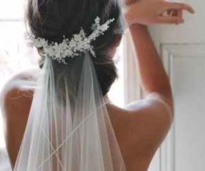 wedding, bride, and style image