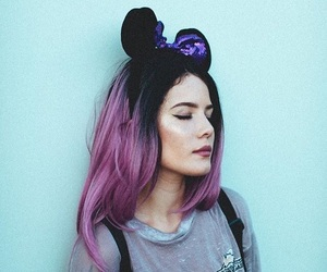 halsey, disney, and hair image