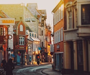 denmark, street, and travel image