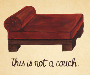 couch, psychoanalysis, and therapy image