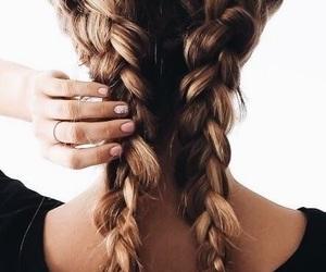 braid, chignon, and neri image
