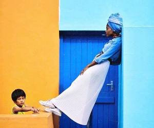 africa, asian, and colours image
