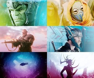 Marvel, thor, and hela image
