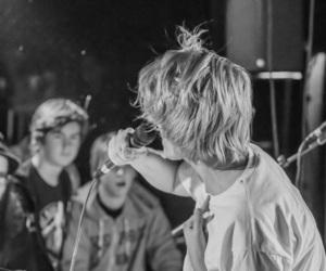 alternative, b&w, and rock image