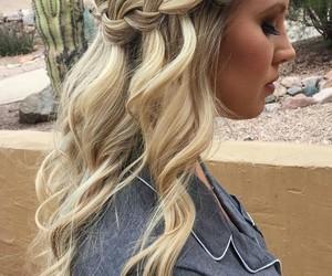 beautiful, long hair, and beauty image