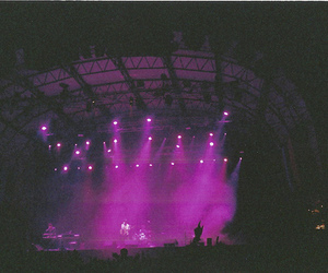 concert, purple, and indie image