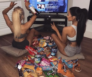 food, friends, and goals image